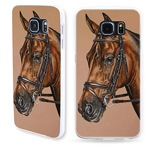 - Aland-Horse Pattern Protective Shell Back Cases Cover for Samsung Galaxy S7 S8 Plus - 4# for Samsung Galaxy S8 Plus