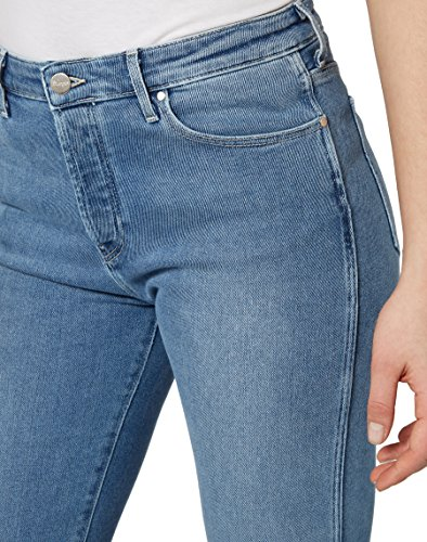 Wrangler Cropped Straight, Jeans Rectos para Mujer Azul (Blue Jean Baby 5y)