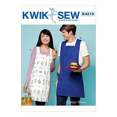 - Kwik Sew Ladies & Mens Easy Sewing Pattern 4211 Aprons with Criss Cross Straps