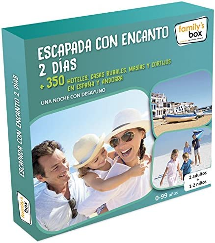 family box escapada con encanto 2 dias