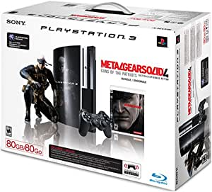 PlayStation 3 80GB Metal Gear Solid 4: Guns of the Patriots Bundle