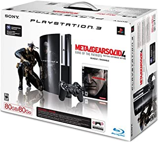 PlayStation 3 80GB Metal Gear Solid 4: Guns of the Patriots Bundle by Artist Not Provided (B0014WJ78E) | Amazon price tracker / tracking, Amazon price history charts, Amazon price watches, Amazon price drop alerts