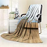 Microfiber Fleece Comfy All Season Super Soft Cozy Blanket kids room for Bed Couch and Gift Blankets(90''x 70'')