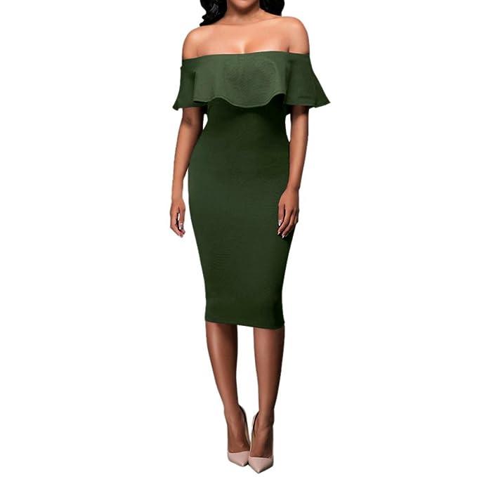 Amazon.com: Venta caliente. Vestido de mujer para fiesta ...