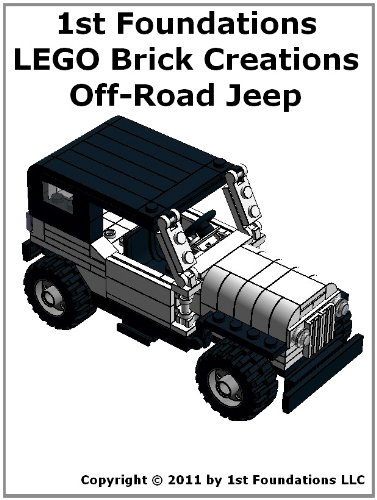 Amazon 1st Foundations Lego Brick Creations Off Road Jeep
