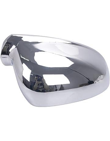 21e6b939987 Espear right side Chrome Wing Mirror Door Caps Cover Case Housing for VW  Golf Rabbit Jetta