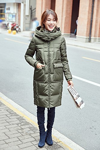 Generic High-Vatican winter new casual version long section female Korean fashion warm down jacket thick coat tide for women girl