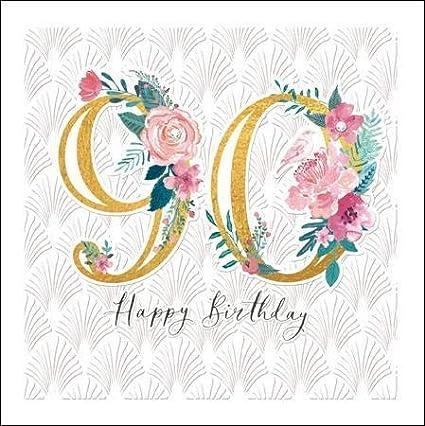 Tarjeta de felicitación para 90 cumpleaños de The Espoir ...