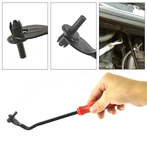 TOOGOO U Tip Nail Staple Fastener Rivet Tack Puller Removing Tool Screwdriver Hand Tool Remover Automotive Motorcycle