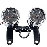 OLSUS 12V Combo Custom Speedometer Bike Odometer Tachometer