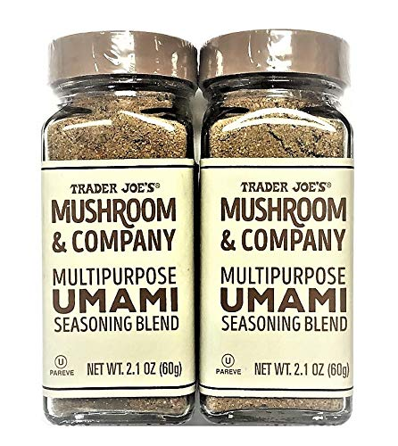 - Trader Joe's Mushroom & Company Multipurpose UMAMI Seasoning Blend NET WT. (2 Packs) 2.1 OZ