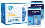 Contour NEXT Blood Glucose Test Strips, 100 Count + 100 O'WELL Lancets