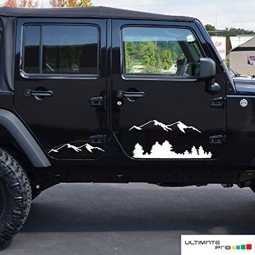 F/ür Jeep Renegade Wrangler Jk Tj Rubicon Cherokee Patriot Trail Hawk Kompass MATBC 4 St/ücke Auto Einstiegsleisten Carbon Aufkleber Zubeh/ör
