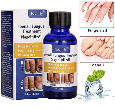 Nail Repair, Nail Solution, Natural Nail Treatment, Effective Against Nail Infection Restores Discolored & Damaged Nails