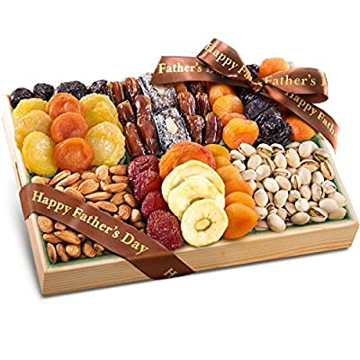 Parent Pacific Coast Deluxe Dried Fruit Tray with Nuts Gift