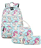 Abshoo Cute Lightweight Unicorn Backpacks With Lunch Box For...