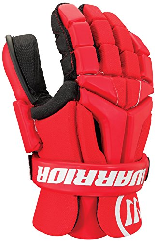 Warrior Burn Goalie Glove, Red, Large
