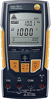 Testo 760-3 1000V Digital Multimeter with TRMS