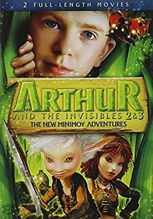 Amazon Com Arthur And The Invisibles 2 3 The New Minimoy Adventures Movies Tv