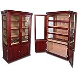 Prestige Import Group   The Saint Regis Cigar Cabinet Humidor   Color:  Cherry Finish