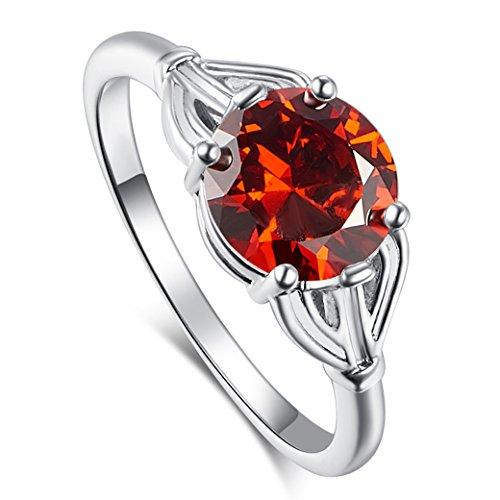 Date Garnet Ring - 9