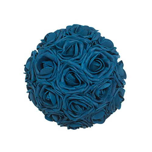 Lings Moment Artificial Flowers Navy Blue Roses 50pcs Real Looking Fake W Stem For DIY Wedding Bouquets Centerpieces Arrangements Party Baby Shower