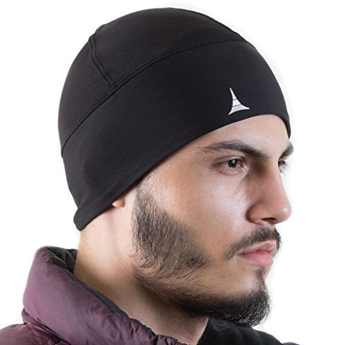 Helmet Liner Skull Cap Beanie. Ultimate Thermal Retention and Performance Moisture Wicking. Fits Under Helmets (Bicycle Cap Skull)