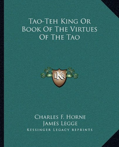 Download Tao-Teh King Or Book Of The Virtues Of The Tao ebook
