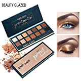 (US) Beauty Glazed New 14 Color Ultra Pigmented Eyeshadow Matte and Shimmer Palette Makeup Powder