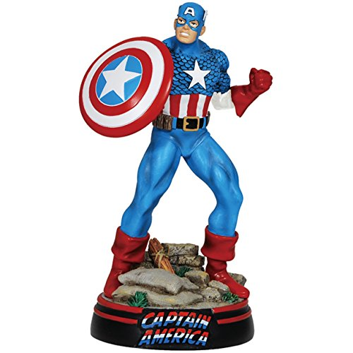 Westland Giftware 8-Inch Marvel Comics Resin Figurine, Captain America, Large