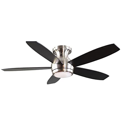 Amazon ge 20314 treviso 52 in brushed nickel indoor led brushed nickel indoor led ceiling fan mozeypictures Choice Image