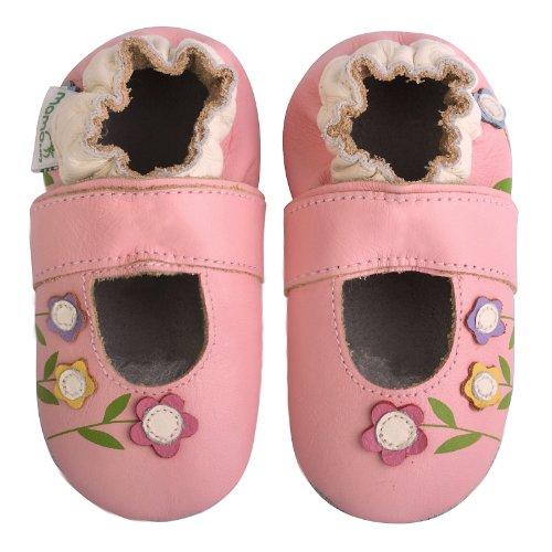Momo Baby , Baby Mädchen Krabbelschuhe & Puschen