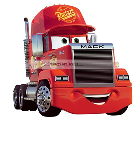 10 Inch Team 95 Mack Truck Disney Pixar Cars 2 Movie Removable Wall Decal Sticker Art Home Racing Decor 9 3/4 by 9 inches
