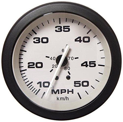 (Sierra International 61547P Driftwood 10 to 50 Mph Dial Range Scratch Resistant Speedometer Kit, 3