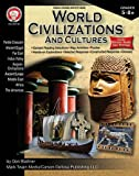 Mark Twain CD-404159 Carson Dellosa World Civilizations and Cultures, 0.25