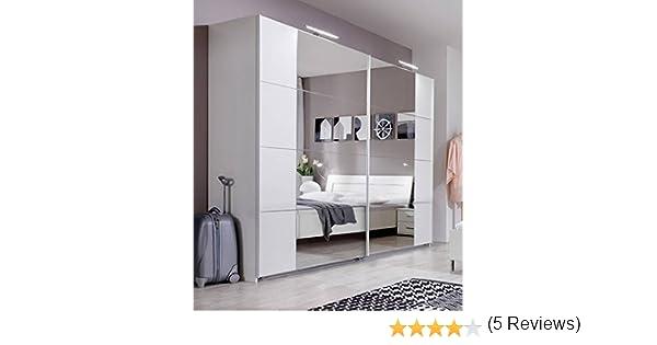 Davos- Armario con espejo con puerta corredera SlumberHaus de 270 ...