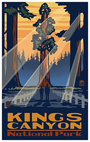- Kings Canyon National Park California Grant Tree Travel Art Print Poster by Paul A. Lanquist (12