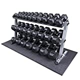 Cheap Heavy Duty Dumbbell Set with Rack 5-70 lbs Pairs