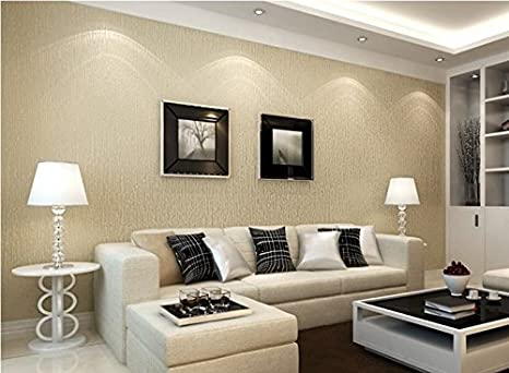Pareti A Strisce Beige : Oro champagne bianco beige strisce verticali parete testurizzata