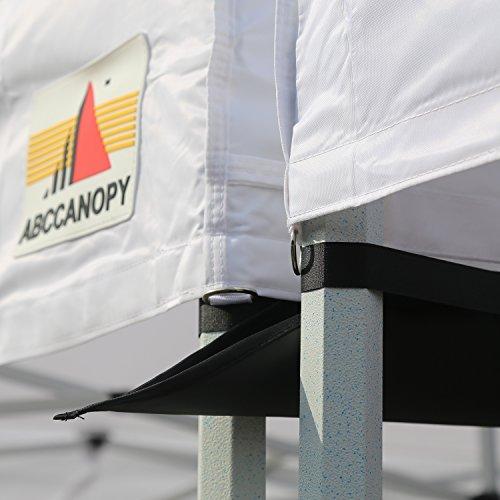 ABCCANOPY Accessories 10 Foot Canopy Rain Gutter/Light Gutter 10' X 10' Canopy Pop up Tent-Black by ABCCANOPY