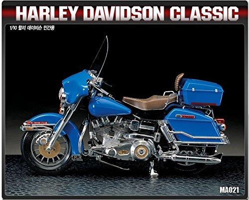 Academy 1/10 Plastic Model Kit Harley Davidson Classic Motorcycle 15501 NIB /ITEM#G839GJ UY-W8EHF3184263 (Harley Davidson Plastic Model Kit)