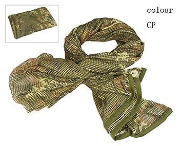 Voile de Sniper Respirant en Voile de Camouflage en Maille Tactique pour Les Jeux de Guerre Fiilets encrass/és Filets de Camouflage randonn/ées p/édestres et Autres activit/és de Plein Air