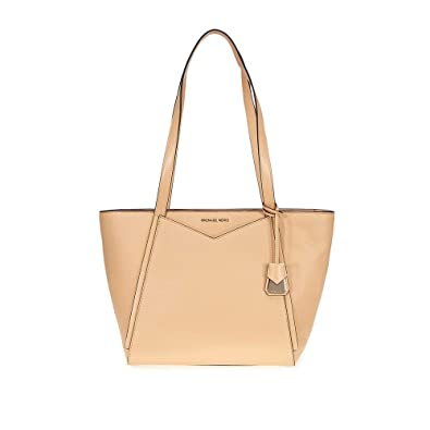 0acdfdde74ca Michael Michael Kors Whitney Small Top Zip Leather Tote  Handbags   Amazon.com