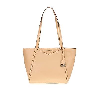 b1e0df22d09d Michael Michael Kors Whitney Small Top Zip Leather Tote: Handbags:  Amazon.com