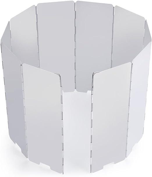 OUTAD 10 Panel Plegable al Aire Libre de Aleación de Aluminio del ...
