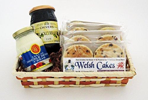 Welsh Baker 4 Flavor Welsh Cake Gift Basket
