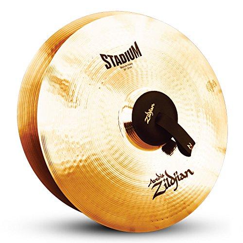 Zildjian A0497 20-Inch Orchestral Cymbals Stadium Series Medium Heavy Pair (Cymbal Orchestral Medium)