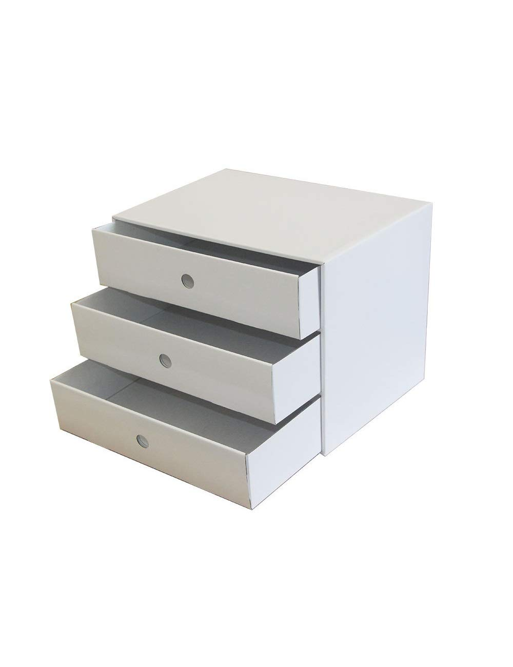 File Cabinet Drawer Showcase Multi-Function Cabinet Desktop Archive Storage Manager 3 Drawers White Office File Storage Cabinet Storage Box Filing cabinets
