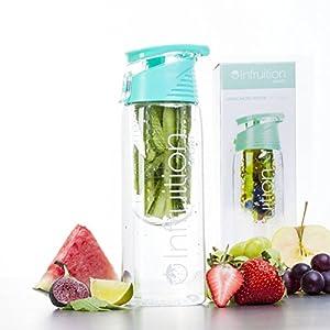Infruition Sport Fruit Infused Water Bottle - 700ml - Mint Blue