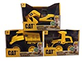 CAT Tough Tracks Toy Construction Set (Excavator, Front-end Loader, Dump Truck)